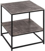 Farrah Collection Silver Side Table