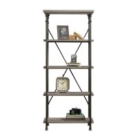 Teknik Canal Heights Bookcase 4 Shelf - (w) 750mm x (d) 394mm