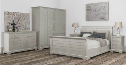 Burghley 6'0 Sleigh Bed