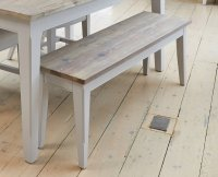 Signature Grey Dining Bench (130)