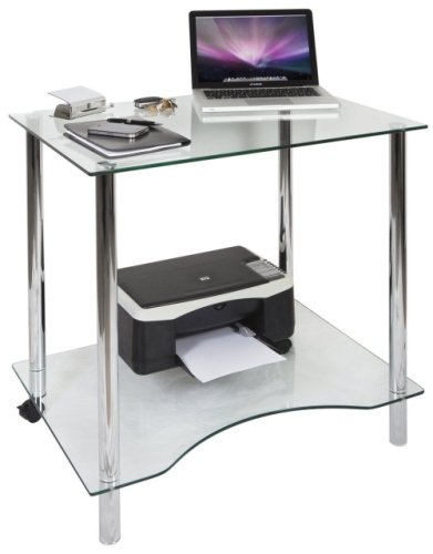 Teknik Crystal Desk - (w) 760mm x (d) 540mm