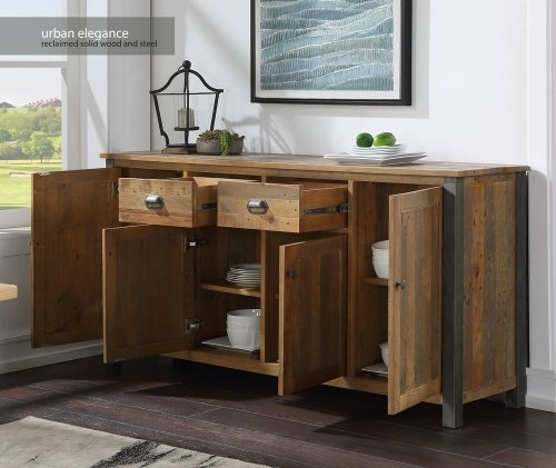 Urban Elegance Reclaimed Extra Large Sideboard