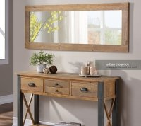 Urban Elegance Reclaimed Extra Long Wall Mirror