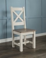 Portland Cross Back Dining Chair