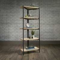 Teknik Industrial Style Chunky 4 Shelf Bookcase