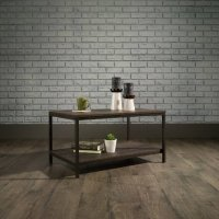 Teknik Industrial Style Coffee Table Smoked Oak