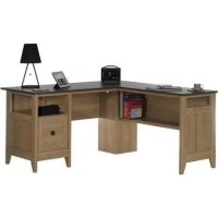 Teknik Home Office L-Shaped Desk - (w) 1500mm x (d) 599mm