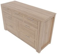Houston 3 over 4 Wide Chest of Drawers