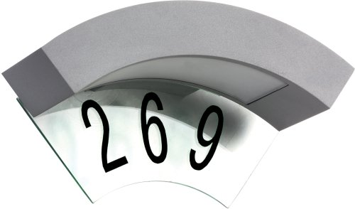 Luxform Lighting 230v Canning House Number Wall Light