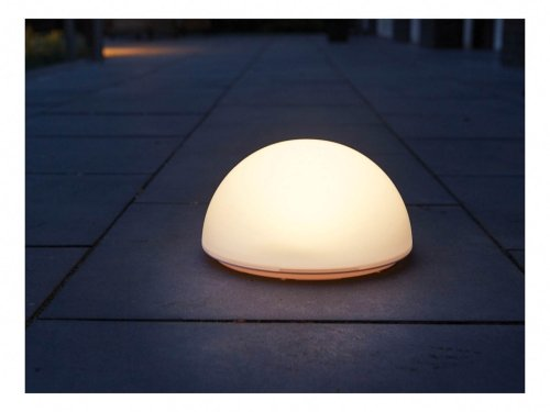 Luxform Lighting Solar La Rochette Ground Globe Light - Colour Changing And White