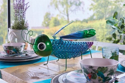 Luxform Lighting Solar Powered Dragonfly Garden Ornament