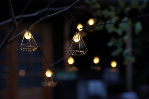 Luxform Lighting Solar String Light With 10 Led Lights Sousse