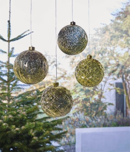 Luxform Battery Operated Hanging Xmas Ball