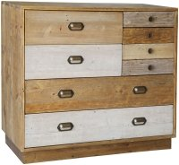 Brooklyn Loft 7 Drawer Chest with Plinth Base