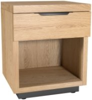 Meribel 1 Drawer Bedside Cabinet