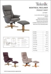 Montreal Luxury Recliner