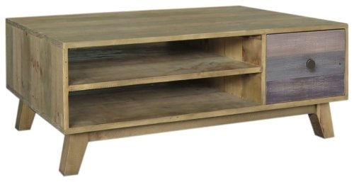 Rio Coffee Table with Drawer