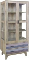 Rio Glazed Display Cabinet
