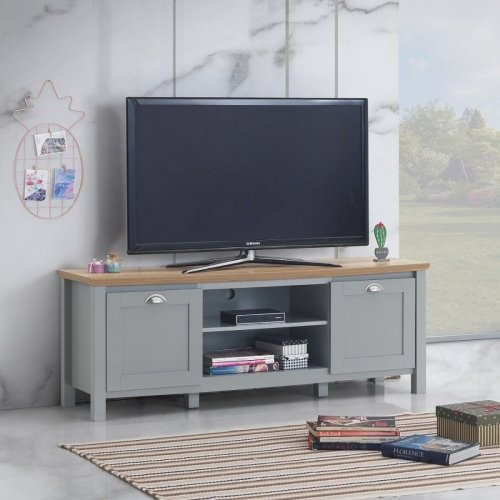 Eaton Tv Cabinet With 2 Doors