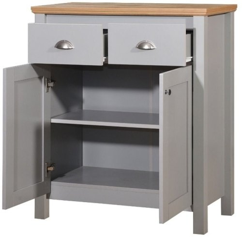 Eaton Compact Sideboard 2 Doors & 2 Drawers