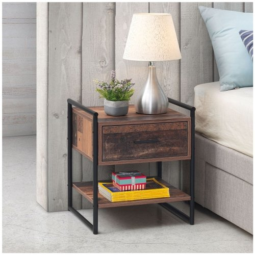 Abbey Nightstand With 1 Drawer