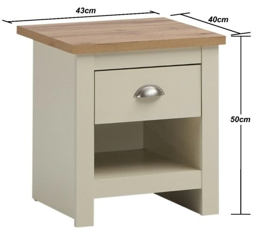 Lisbon Nightstand With 1 Drawer