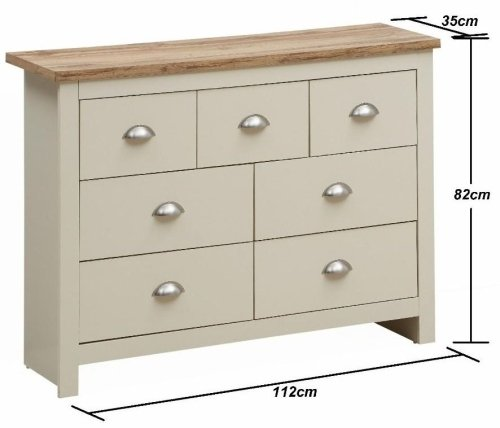 Lisbon Chest Of 7 Drawers