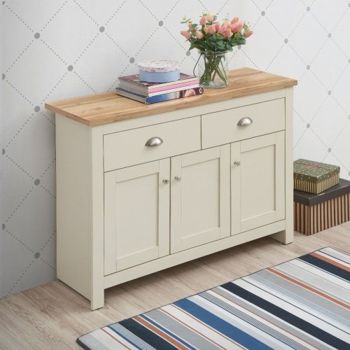 Lisbon Sideboard With 3 Doors & 2 Drawers