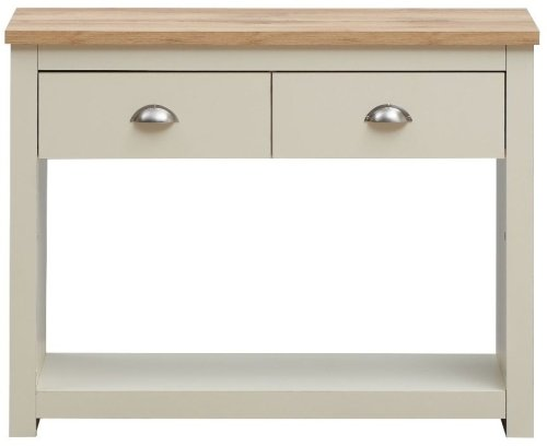 Lisbon 2 Drawer Console Table