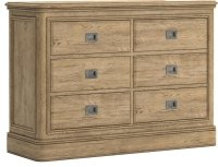 Dallas 6 Drawer Wide Chest of Drawers